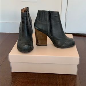 Jeffrey Campbell Booties with Wood Heel
